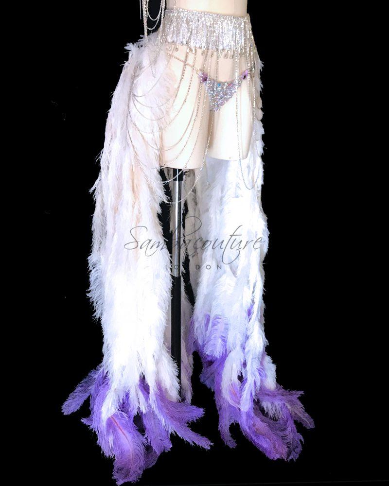 SambaCouture WBFF Competition Luxury rhinestone theme wear